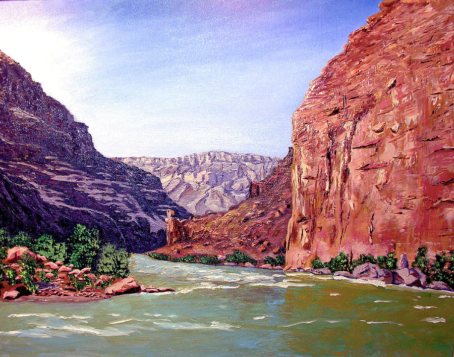Grand Canyon Painting - Grand Canyon I by Stan Hamilton