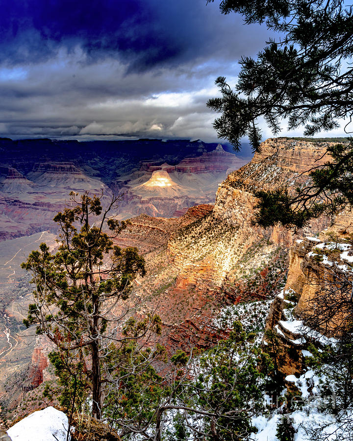 Grand Canyon in Winter by Jim DeLillo