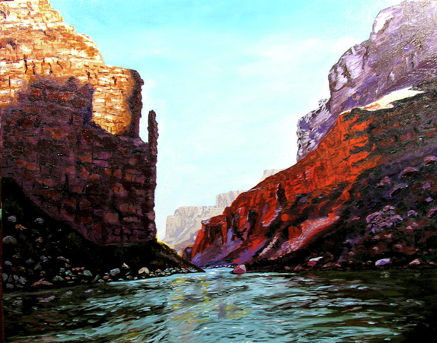 Grand Canyon Painting - Grand Canyon IV by Stan Hamilton