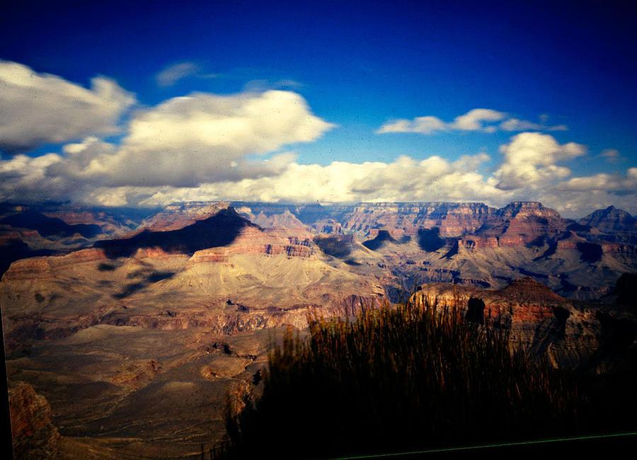 Pinhole Photograph - Grand Canyon by Luca Baldassari