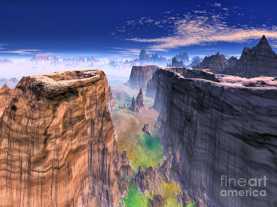 Grand Canyon Mountain . by Heinz G Mielke