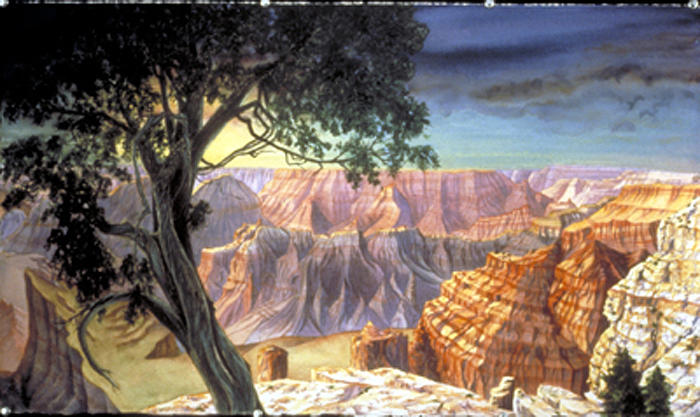 Grand Canyon Painting - Grand Canyon by Nancy  Ethiel