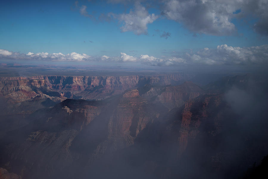Grand Canyon North Rim Vista Encantada 2 by Frank Madia