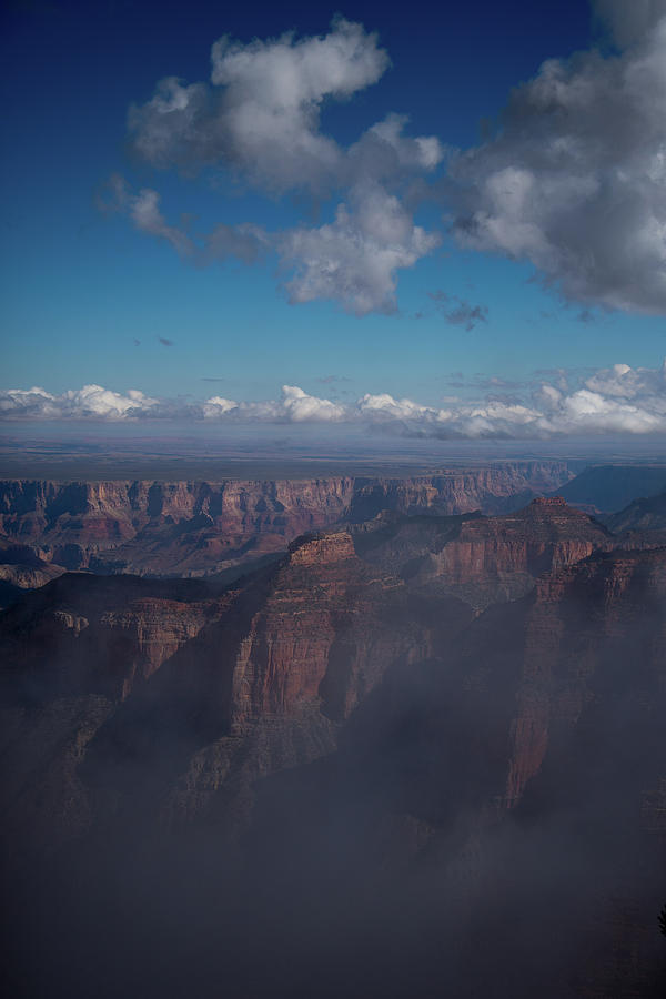 Grand Canyon North Rim Vista Encantada by Frank Madia