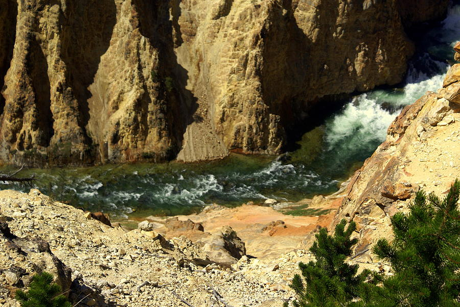 Yellowstone National Park Photograph - Grand Canyon Of The Yellowstone 3 by Marty Koch