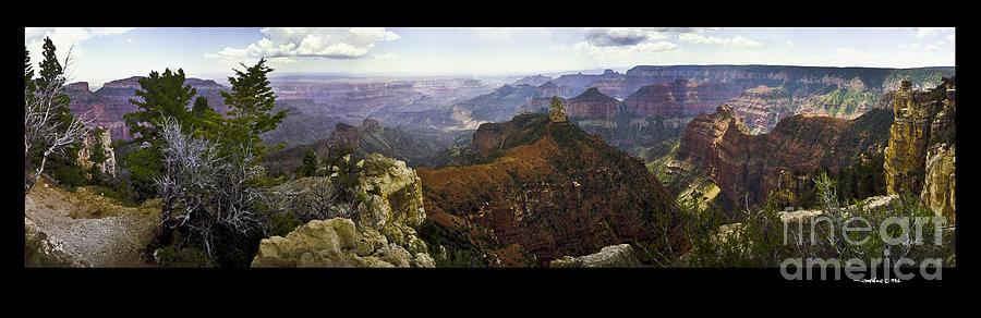 Grand Canyon Photograph - Grand Canyon Pan  by Jonathan Fine
