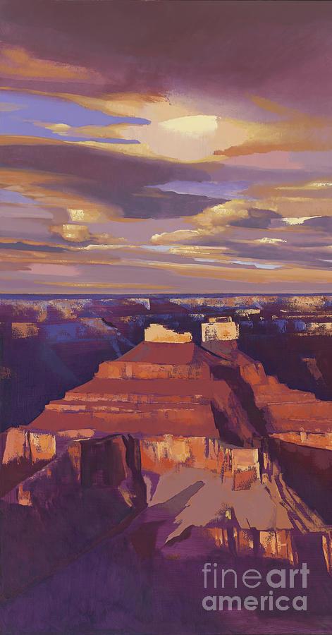 Grand Canyon panel I by Michael Stoyanov