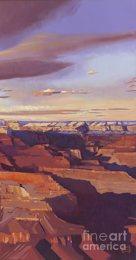 Grand Canyon panel III by Michael Stoyanov