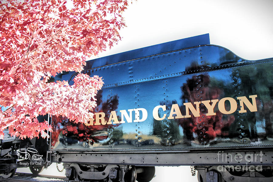 Vacation Photograph - Grand Canyon Railroad by Beauty For God