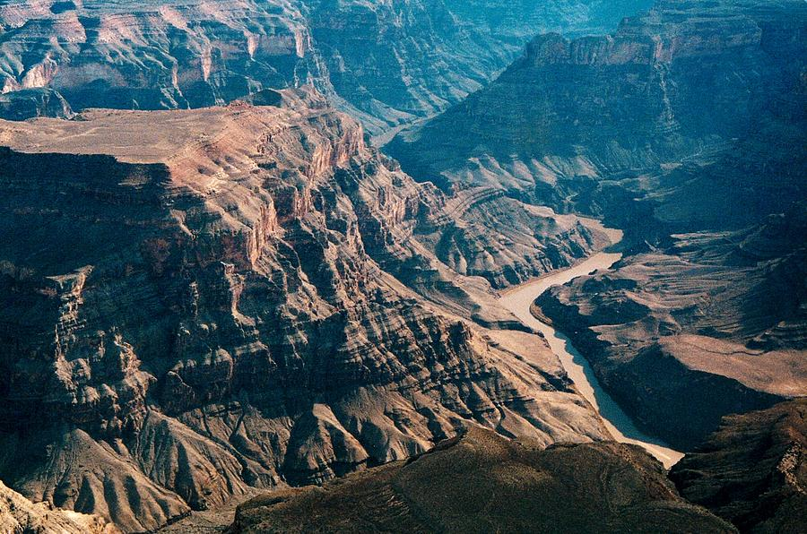 River Photograph - Grand Canyon River by Larry Austin