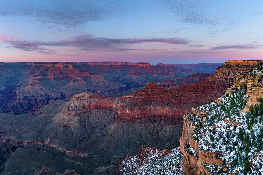 Grand Canyon - South Rim Twilight by Shuwen Wu
