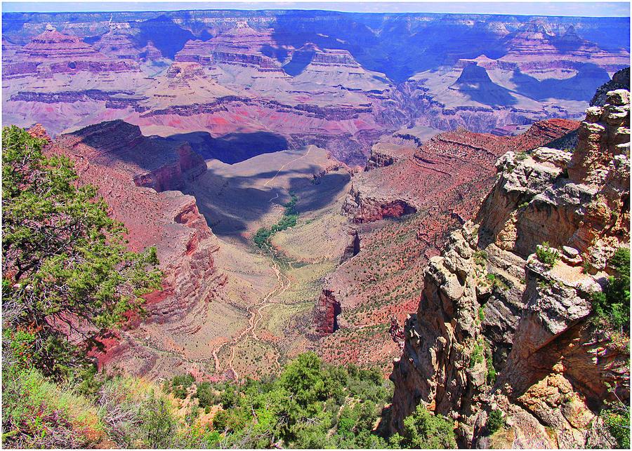 Grand Canyon Photograph - Grand Canyon Usa by Natalya Shvetsky