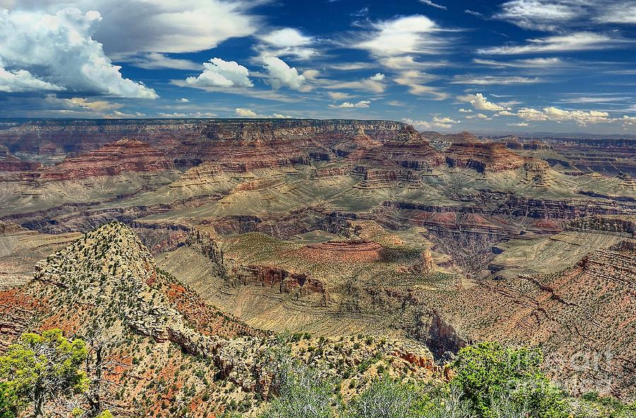 Grand Canyon Photograph - Grand Canyon View by John Kelly