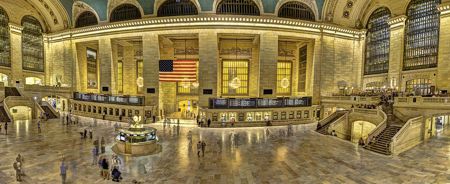 Grand Central Photograph - Grand Central by Michael Tischler