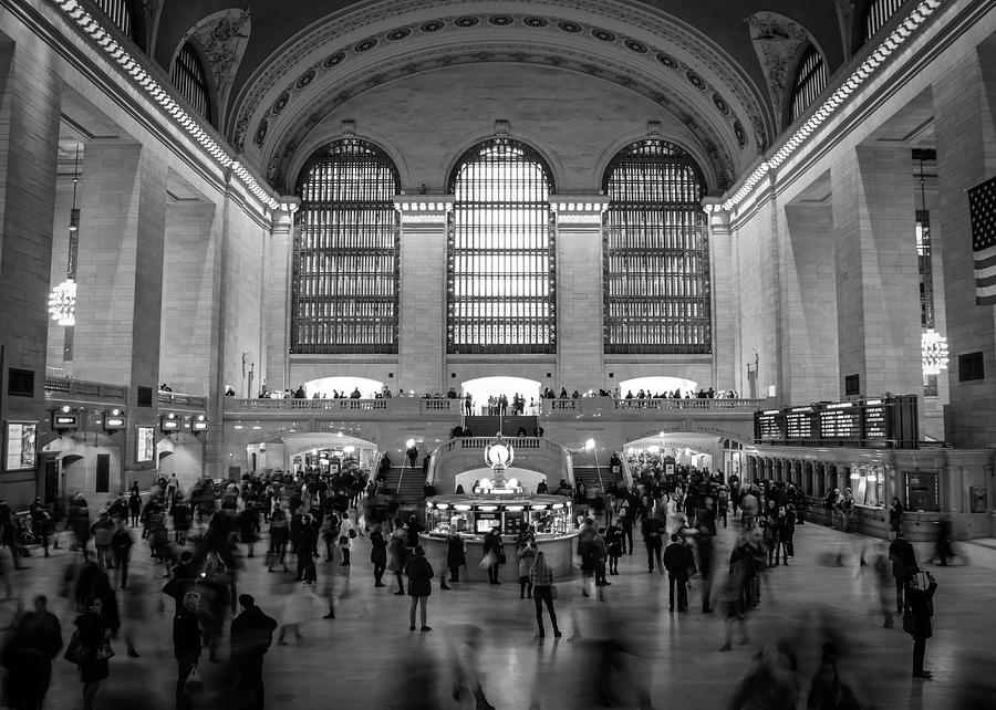 Grand Central Station Photograph - Grand Central Station  by Alex Rossi