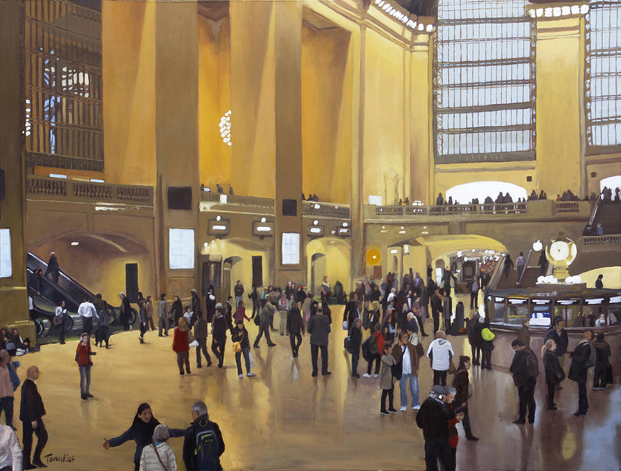 Grand Central Terminal by Linda Tenukas