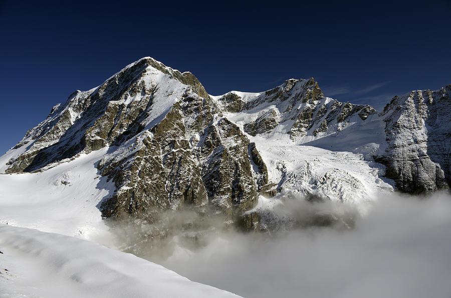 Swisse Photograph - Grand Combin by Andrea Gabrieli
