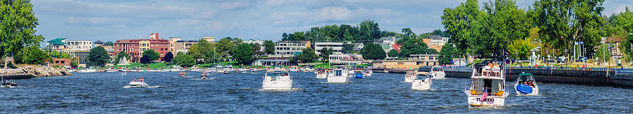 America Photograph - Grand Haven Michigan by Jeff S PhotoArt