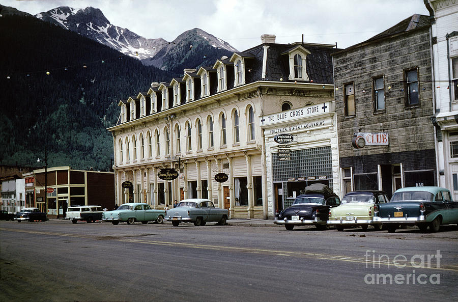 Grand Imperial Hotel Old Time Cars Retro Silverton By Wernher Krutein