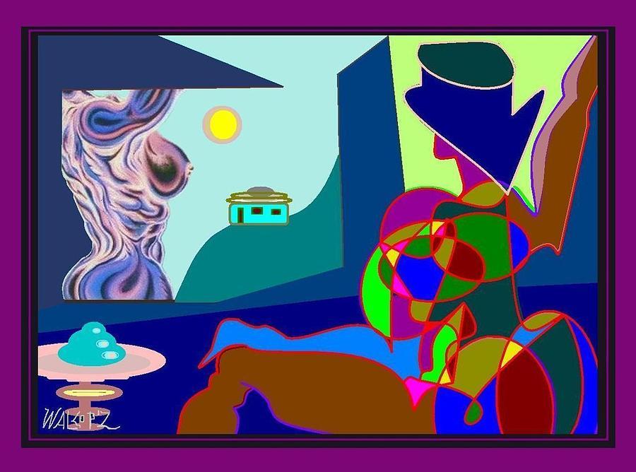 Grand Jatte Walcopz Digital Art by Walcopz Valencia