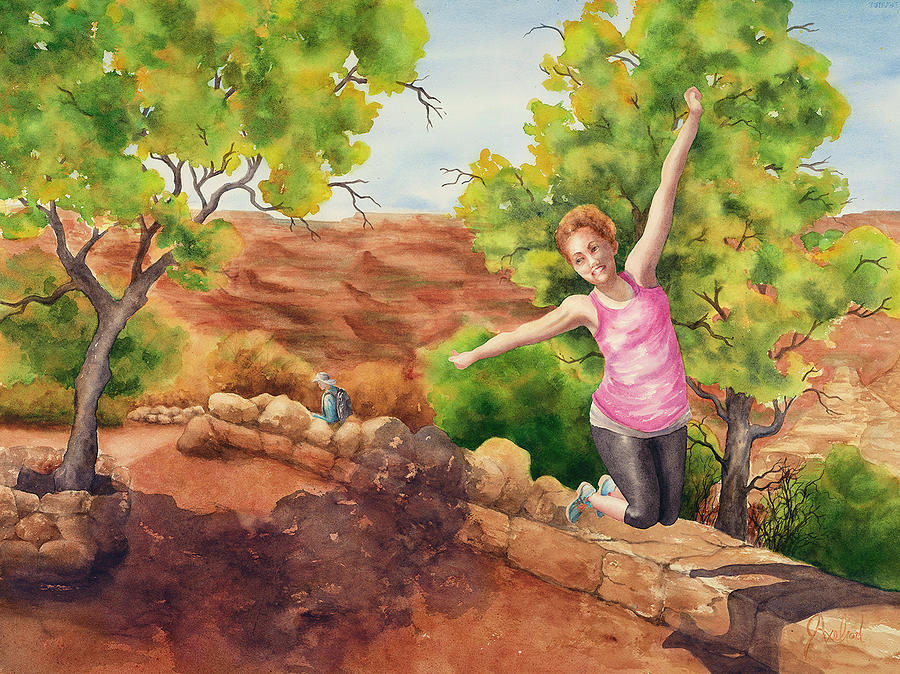 Grand Leap by Johanna Axelrod