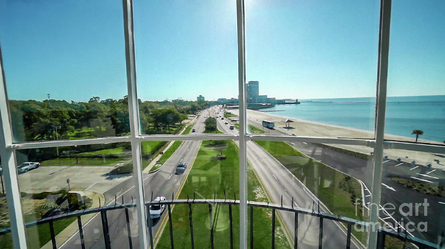 Grand Lighthouse View Biloxi Ms 1t Photograph by Ricardos Creations