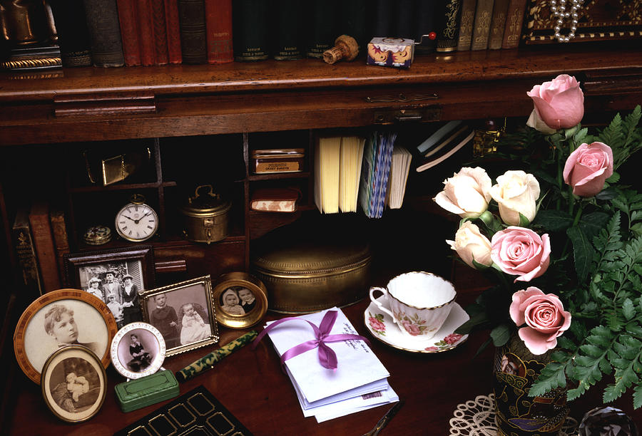 Books Photograph - Grand Ma by Steven Huszar