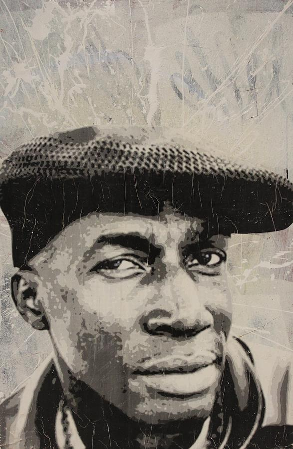 Grand Mixed Media - Grand Master Flash by Dustin Spagnola