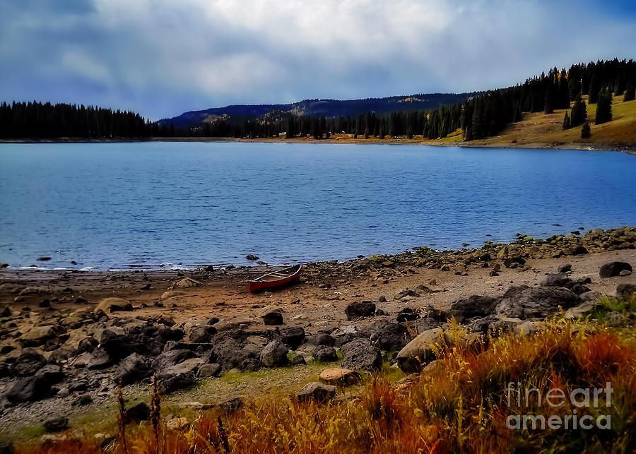 Colorado Photograph - Grand Mesa Lake by Janice Pariza