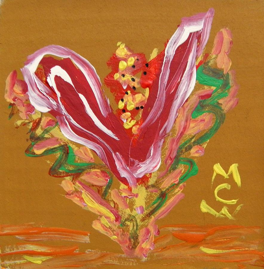 Flower Painting - Grand Opening by Mary Carol Williams