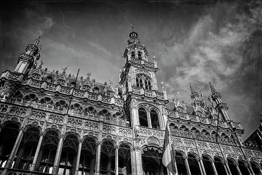 Brussels Photograph - Grand Place Architecture Brussels  by Carol Japp