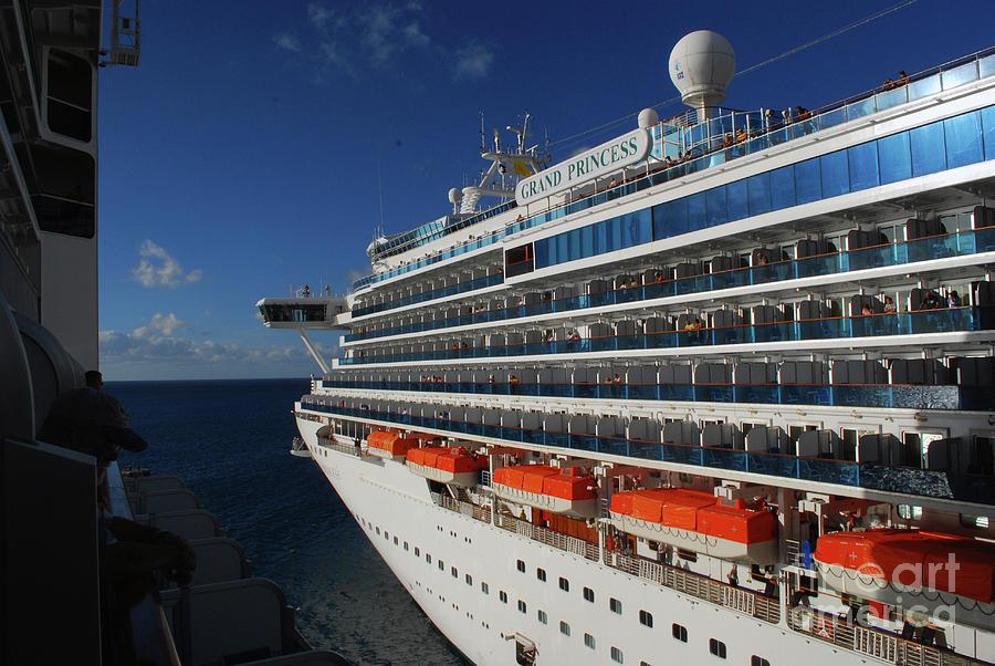 Cruise Photograph - Grand Princess by Gary Wonning