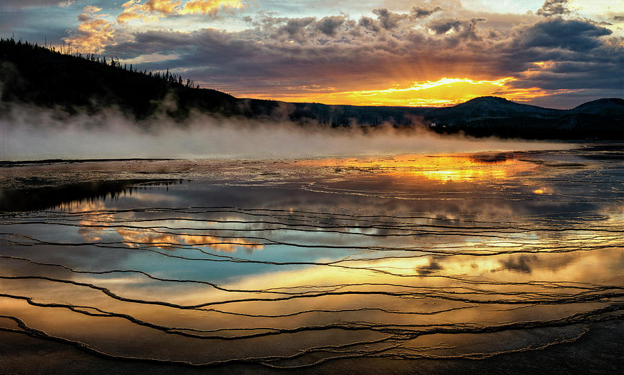 Grand Prismatic at Sunset by David Soldano