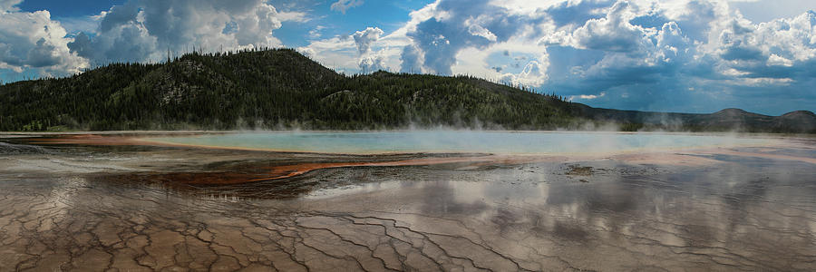 Grand Prismatic Spring by David Lyle