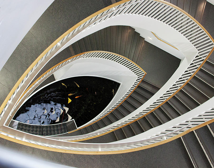 Staircase Photograph   Grand Staircase Chicago By JoAnn Silva