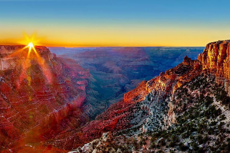 Grand Sunset Photograph