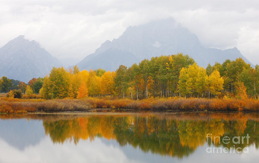Grand Teton Photograph - Grand Teton Iv by John Blumenkamp