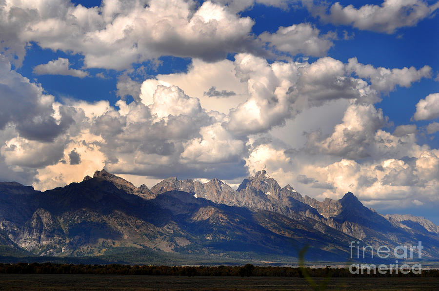 Diane Berry Photograph - Grand Teton National Park by Diane E Berry