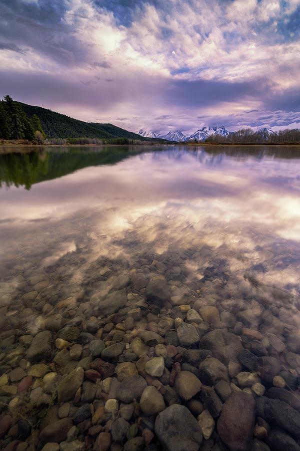 Grand Teton National Park Photograph - Grand Teton National Park - Oxbow Bend - Stones Throw by Jason Penland