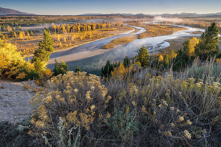 Grand Teton National Park Photograph - Grand Teton National Park - Snake River by Jason Penland