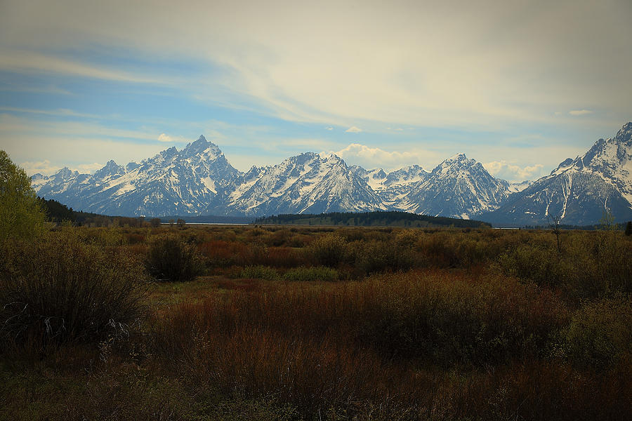 Grand Teton Range by Robert Melvin