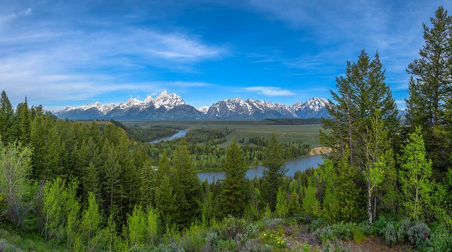 Grand Teton Vista Photograph