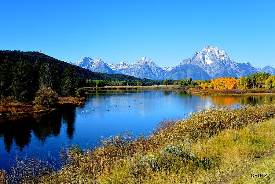 Grand Tetons National Park Photograph - Grand Tetons 1 by Carrie Putz