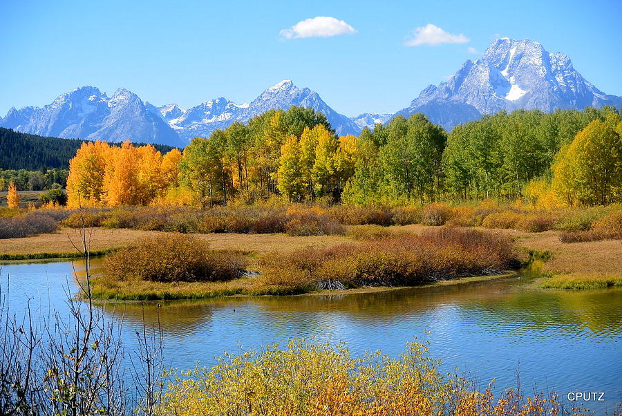 Grand Tetons National Park Photograph - Grand Tetons 3 by Carrie Putz
