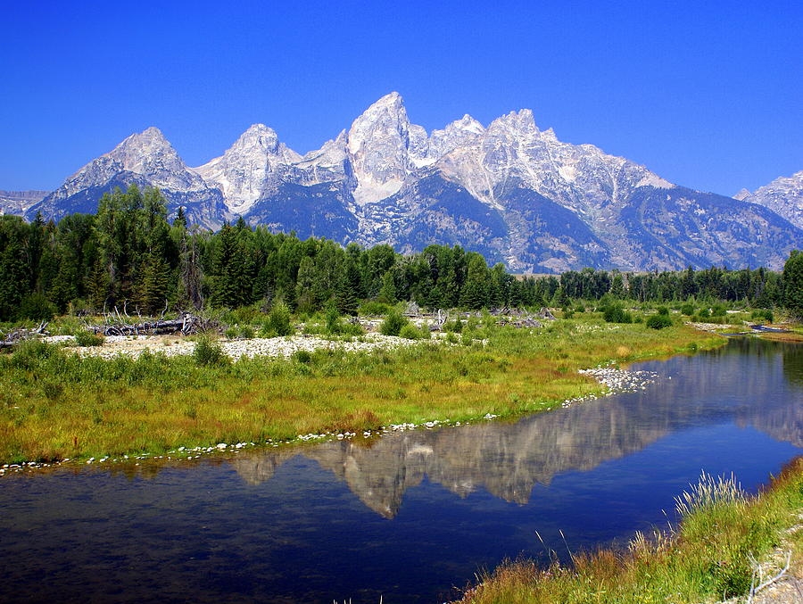 Grand Teton National Park Photograph - Grand Tetons by Marty Koch