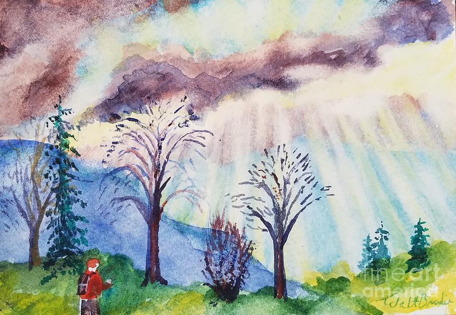 Grandama Cohen Rays 2 by Walt Brodis