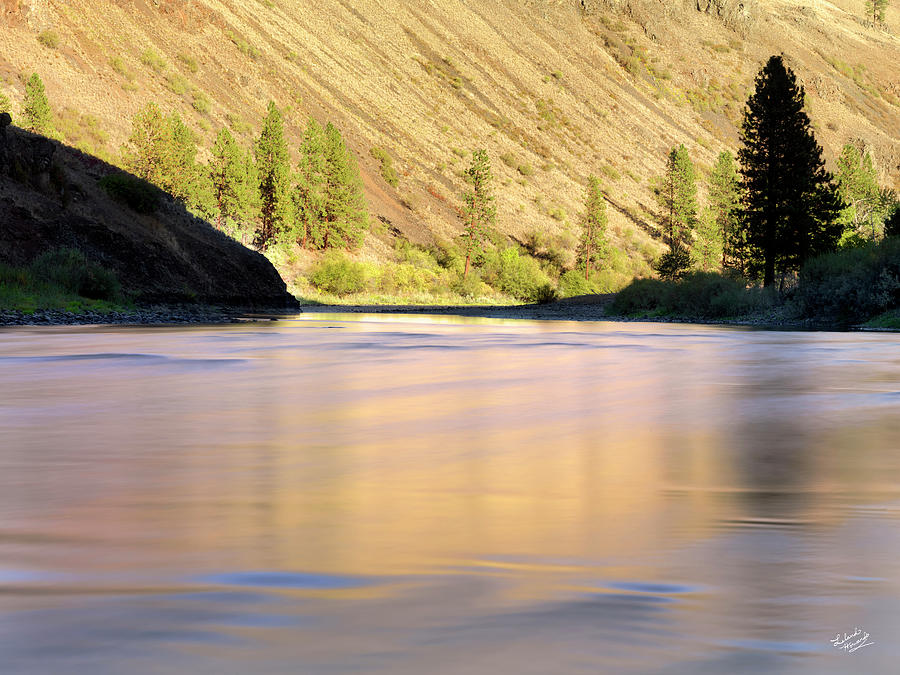 Beautiful Photograph - Grande Ronde River by Leland D Howard