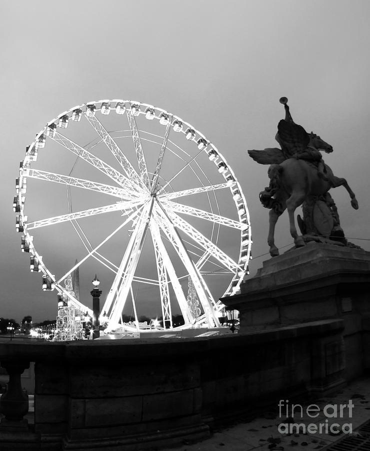 Paris Photograph - Grande Roue De Paris by Paul Topp