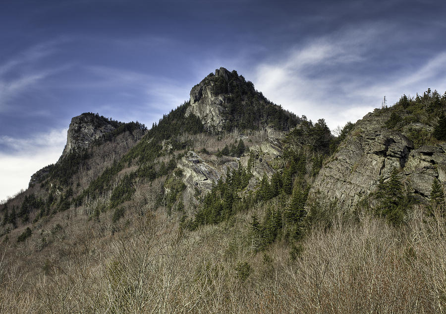 Mountains Photograph - Grandfather Mt. by Harry H Hicklin