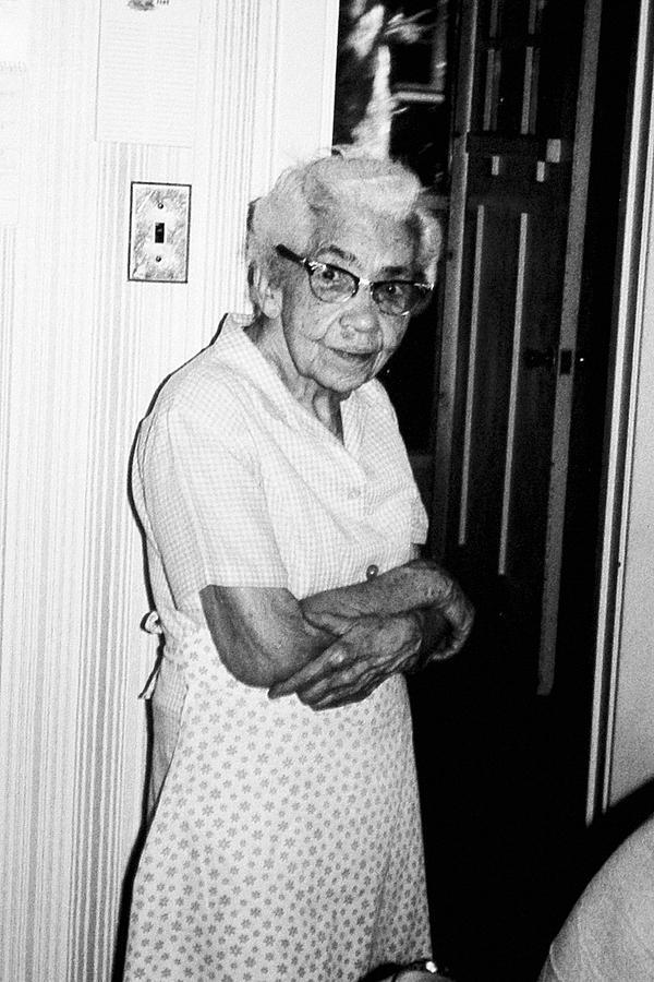 Grandma Photograph - Grandma by John Toxey